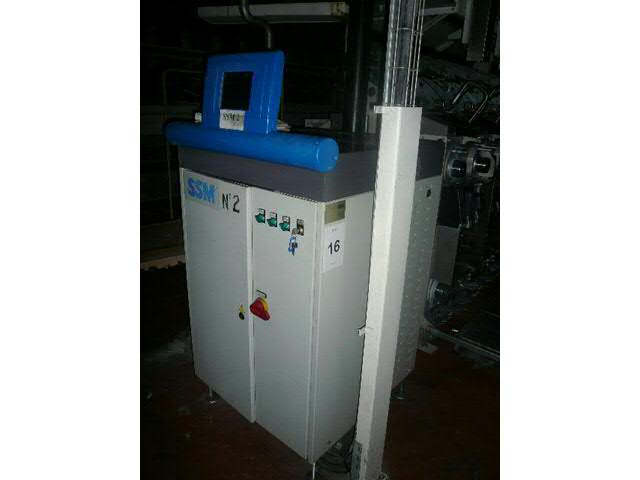 Machine de texturation par air comprimé de marque SSM - type RM3-T