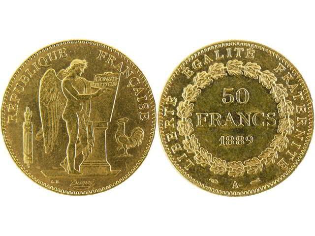 Troisième République, 1871   1940 - Très rare série de monnaies