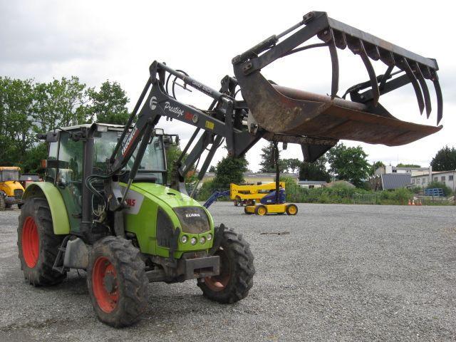 TRA CLAAS TRACTEUR AGRICOLE CELTIS 426 RC Dmec : 27/02/2006-18CV-Carrosserie