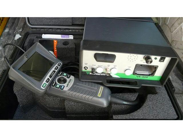 Caméra de contrôle d'intérieur de tuyau VP500 Everest VIT Marque