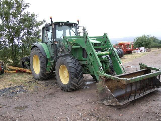 Tracteur agricole JOHN DEERE, type MW1, 18/09/2003GO, 27 CV, 8 700