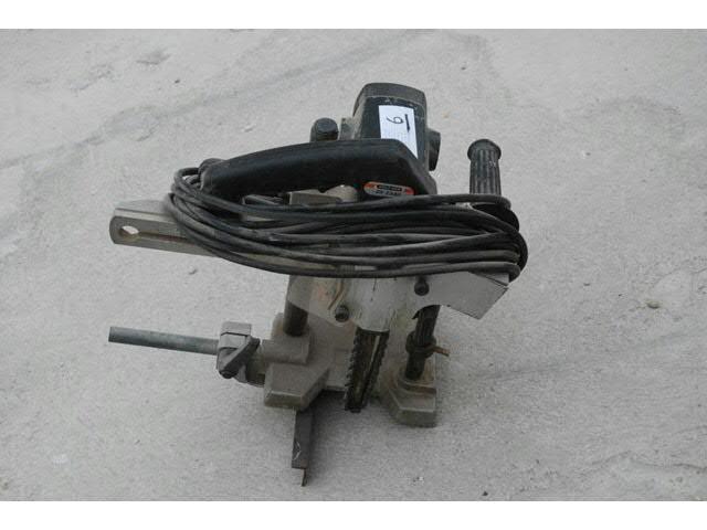 Mortaiseuse à chaîne de chantier Holzer largeur 30mm