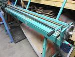 Baguetteuse d'atelier 2 mètres, sur pieds, BAG2040MP, de marque Jouannel,