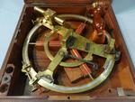 Gambey (1787 - 1847), Cercle de réflexion en laiton à poignée en