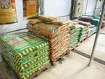 6 palettes de terreau pour géraniums, terre de bruyère, plantes