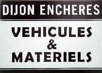 logo DIJON ENCHERES VEHICULES et MATERIELS et DIJON ENCHERES VEHICULES ET MATERIELS