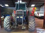 Tracteur agricole MASSEY-FERGUSSON 3645 électronique, boite à vitesse