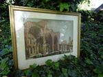 """Aquateinte """"Rome"""", coup de cuivre, 36 x 52 cm"""