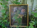 """""""Vase de fleurs"""", HST, 45 x 35 cm"""