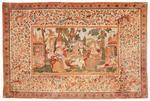 Apollon et les Muses, exceptionnelle toile peinte, Inde, Côte de
