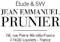 logo Maître Jean Emmanuel PRUNIER et SVV JEAN EMMANUEL PRUNIER