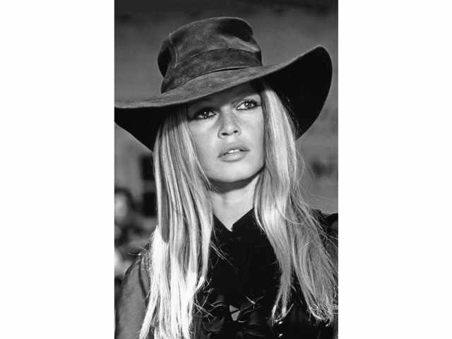 Leonard DE RAEMY 1924-2000 Brigitte Bardot, 1971 Tirage argentique