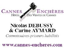 logo SCP AYMARD DEBUSSY et Sarl CANNES ENCHERES