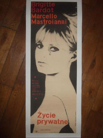 """VIE PRIVEE"" (1961) de Louis Malle avec Brigitte Bardot, Marcello"