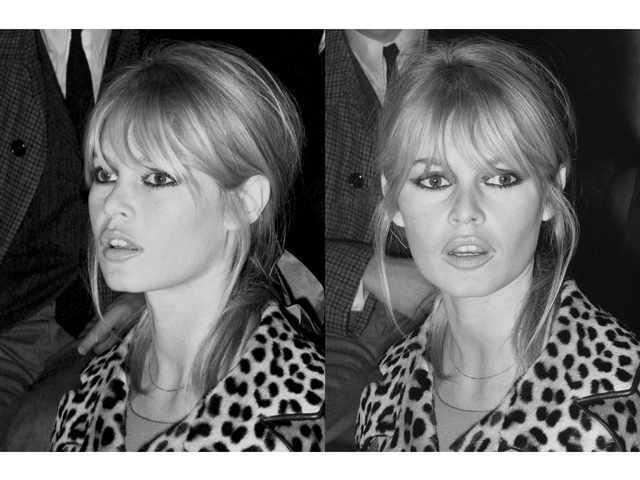 Daniel CANDE, né en 1938 Brigitte Bardot, 1966 Tirage argentique
