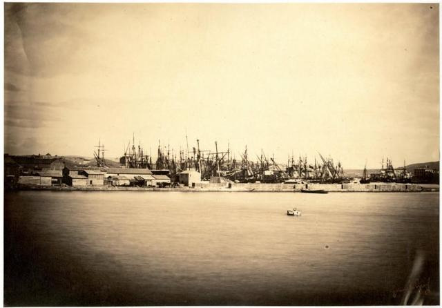 gustave le gray (1820-1884) Port de Sète 1856 Albumine, 280x400 mm,